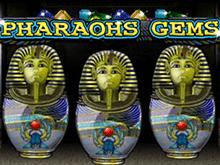 Pharaohs Gems: играть в слот в казино Вулкан на деньги