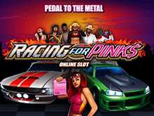Играть в слот Racing For Pinks на деньги в казино Вулкан