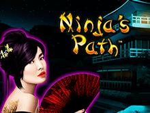 Клуб Вулкан предлагает окунуться в мир азарта, запустив онлайн-слот Ninja's Path от разработчика Novomatic