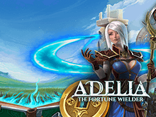 Играй онлайн в интересном аппарате Adelia The Fortune Wielder