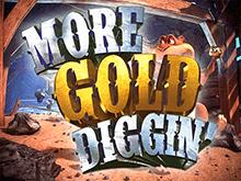 Играть онлайн в виртуальный аппарат More Gold Diggin