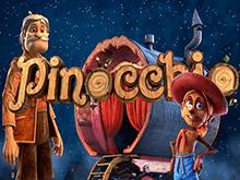 Начинайте играть онлайн на деньги в игровой аппарат Pinocchio